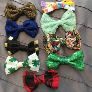 Bunch of hair bows